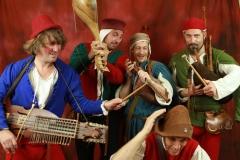 troubadours et leurs instruments médiévaux