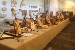 exposition d'instruments médiévaux