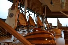 exposition d'instruments de musique du Moyen-Age