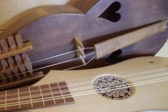 instruments à cordes du Moyen-Age