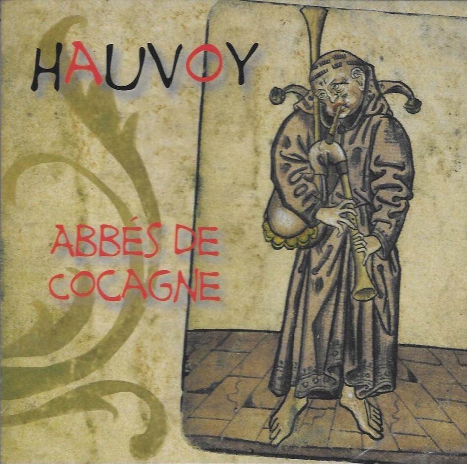 """pochette de l'album """"abbés de cocagne"""" de l'ensemble Hauvoy"""