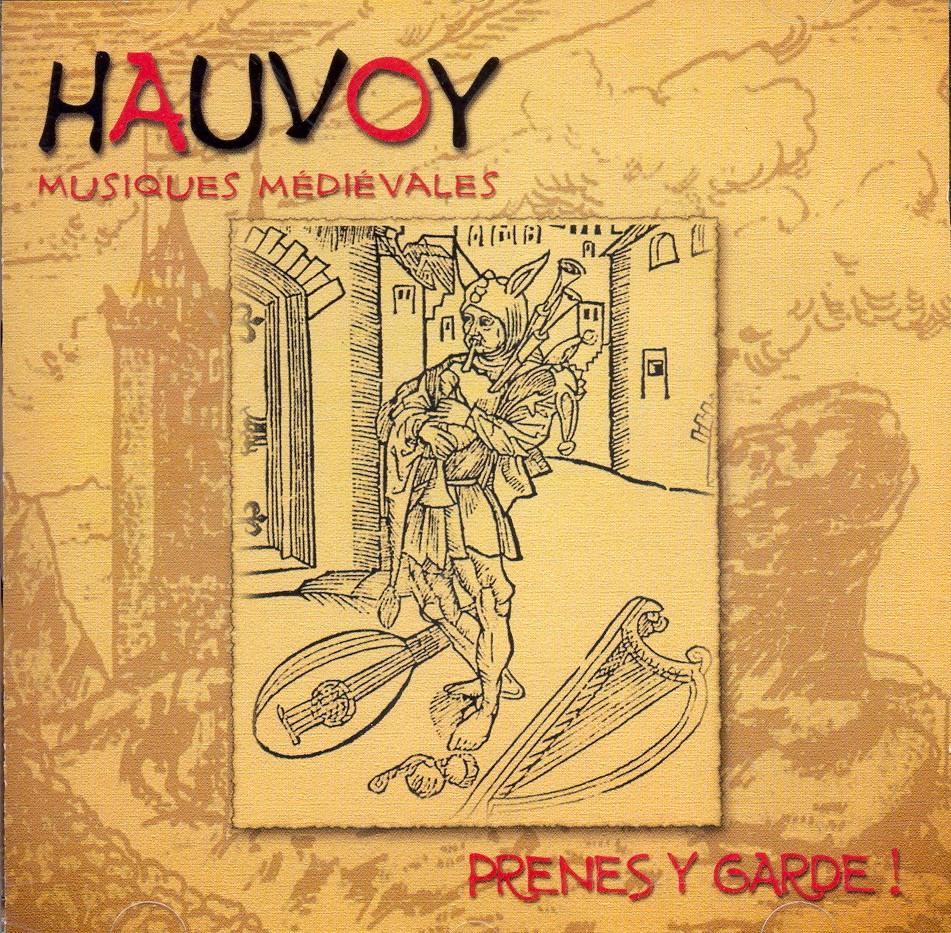 """pochette de l'album """"prenes y garde"""""""